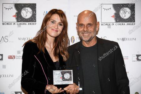 Actress Paola Cortellesi, director Riccardo Milani