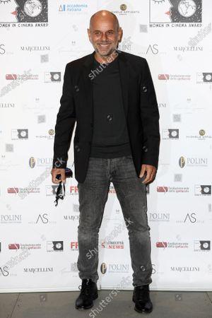 Stock Photo of Director Riccardo Milani