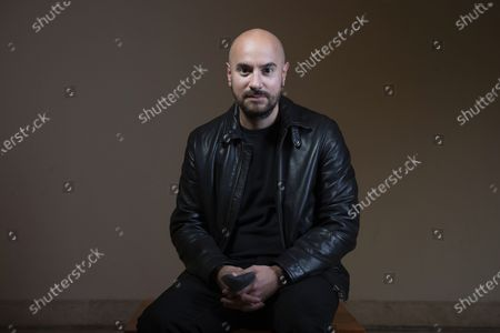 Actor Kyan Khojandi poses for portraits for the movie Le Discours at the Rome Film Fest in Rome