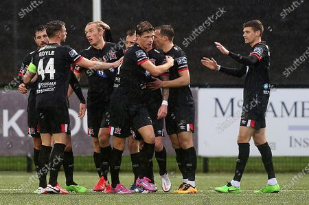 Derry City vs Dundalk. Dundalk's Sean Murray celebrates his opening goal