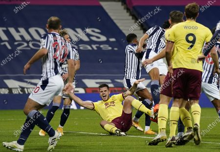Editorial picture of West Bromwich Albion vs Burnley FC, United Kingdom - 19 Oct 2020