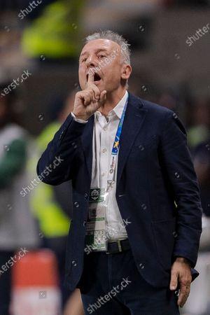 United Arab Emirates Head Coach Alberto Zaccheroni gestures during the Semi Finals match