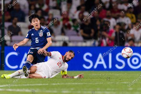 Editorial image of Iran v Japan, AFC Asian Cup Semi Final, Football, Hazza bin Zayed Stadium, Al Ain, United Arab Emirates - 28 Jan 2019