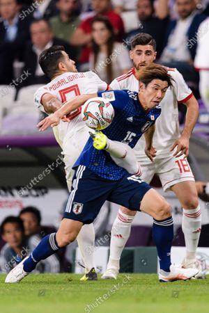 Editorial picture of Iran v Japan, AFC Asian Cup Semi Final, Football, Hazza bin Zayed Stadium, Al Ain, United Arab Emirates - 28 Jan 2019