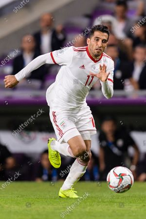 Vahid Amiri of Iran in action during the Semi Finals match