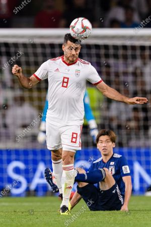 Editorial photo of Iran v Japan, AFC Asian Cup Semi Final, Football, Hazza bin Zayed Stadium, Al Ain, United Arab Emirates - 28 Jan 2019