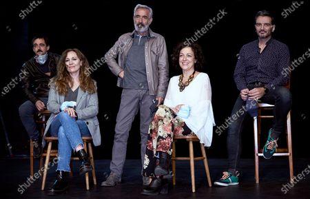 Fran Calvo, Cristina Inza, Imanol Arias, Marta Molina and Jorge Basanta