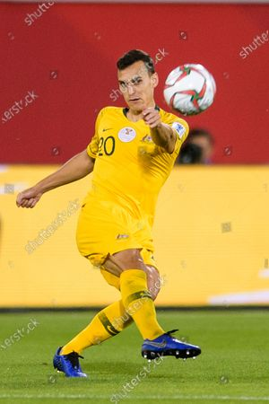 Trent Sainsbury of Australia in action during the Round of 16 match