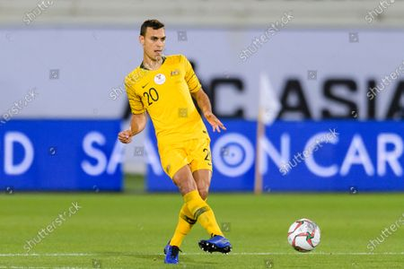 Stock Image of Trent Sainsbury of Australia in action during the Round of 16 match