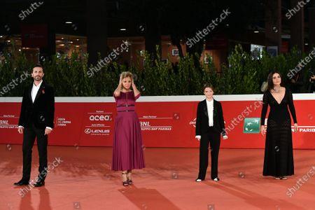 Nicolangelo Gelormini, Valeria Golino, Cristina Magnotti, Pina Turco