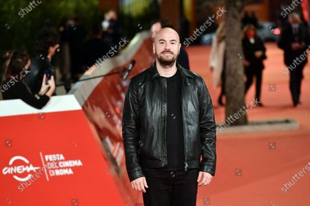 Stock Image of Kyan Khojandi arrives for the screening of 'Le Discours'