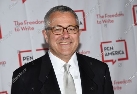 """Lawyer and author Jeffrey Toobin attends the 2018 PEN Literary Gala in New York on . Toobin has been suspended by the New Yorker and is stepping away from his job as CNN's senior legal analyst pending what the cable network is calling a """"personal matter"""