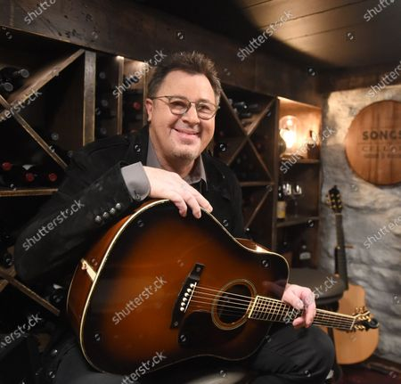 Editorial photo of Vince Gill stops by Phil Vassar's 'Songs from the Cellar', Nashville, Tennessee, USA - 19 Oct 2020