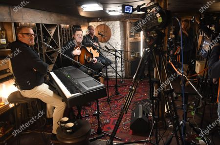 Editorial picture of Vince Gill stops by Phil Vassar's 'Songs from the Cellar', Nashville, Tennessee, USA - 19 Oct 2020