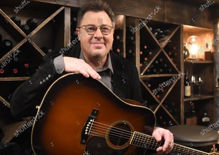 Stock Image of Vince Gill stops by the Circle Television Network, 'Phil Vassar's Songs from the Cellar', in Nashville, TN. Airing in October 22, 2020 on Circle @PhilVassarSFTC @circleallaccess