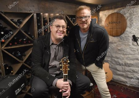 Vince Gill stops by the Circle Television Network, 'Phil Vassar's Songs from the Cellar', in Nashville, TN. Airing in October 22, 2020 on Circle @PhilVassarSFTC @circleallaccess
