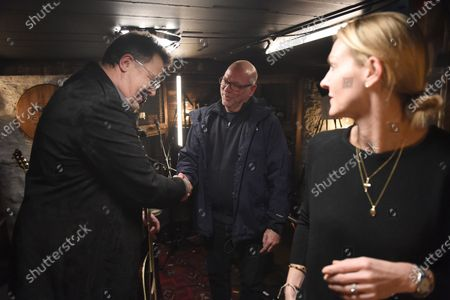 Editorial image of Vince Gill stops by Phil Vassar's 'Songs from the Cellar', Nashville, Tennessee, USA - 19 Oct 2020