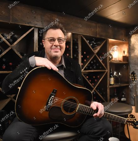 Stock Photo of Vince Gill stops by the Circle Television Network, 'Phil Vassar's Songs from the Cellar', in Nashville, TN. Airing in October 22, 2020 on Circle @PhilVassarSFTC @circleallaccess