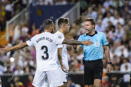 Editorial image of UEFA Champions League 2018-19, Valencia CF vs Juventus Football Club, Spain - 19 Sep 2018