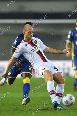Editorial photo of Soccer: Serie A 2020-2021 : Hellas Verona 0-0 Genoa, Verona, Italy - 19 Oct 2020