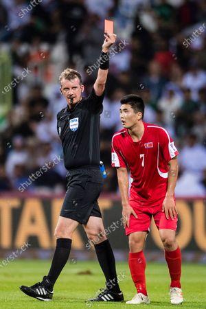 Editorial photo of Saudi Arabia (KSA) vs North Korea (PRK), 2019 AFC Asian Cup, Group Stage C, Dubai, United Arab Emirates - 08 Jan 2019