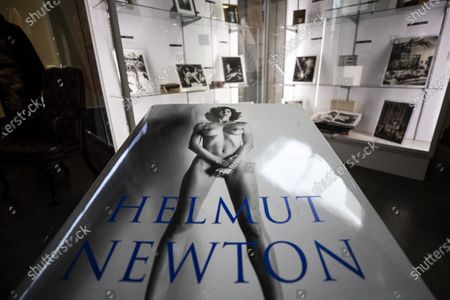 A signed copy of Australian-German photographer Helmut Newton Taschen Sumo Edition is displayed and put for auction at Julien's Auctions in Beverly Hills, California, USA, 19 October 2020. The auction will be held on 24 October 2020.