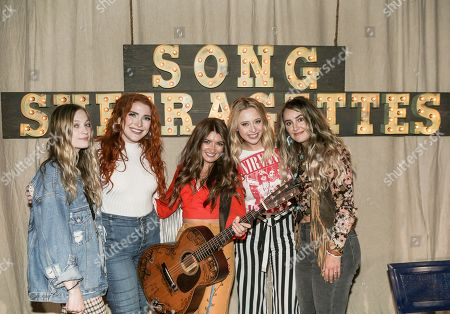 Editorial picture of Song Suffragettes concert, The Listening Room Cafe, Nashville, Tennessee, USA - 18 Oct 2020