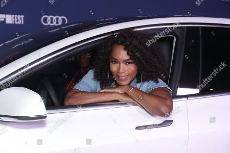 """Stock Photo of Angela Bassett attends Amazon Studios """"One Night In Miami"""" AFI Fest Drive In screening on Monday, October 19 at the Rose Bowl."""