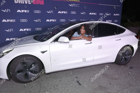 """Angela Bassett attends Amazon Studios """"One Night In Miami"""" AFI Fest Drive In screening on Monday, October 19 at the Rose Bowl."""