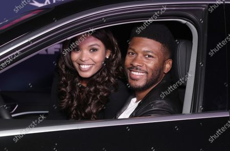 "Ash Renyolds and Eli Goree attend Amazon Studios ""One Night In Miami"" AFI Fest Drive In screening on Monday, October 19 at the Rose Bowl."