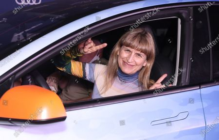 """Catherine Hardwicke attends Amazon Studios """"One Night In Miami"""" AFI Fest Drive In screening on Monday, October 19 at the Rose Bowl."""