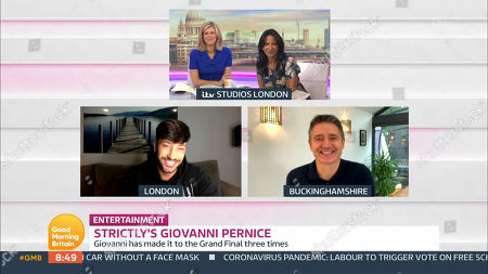 Editorial picture of 'Good Morning Britain' TV Show, London, UK - 20 Oct 2020