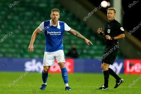 Adam Clayton of Birmingham City; Carrow Road, Norwich, Norfolk, England, English Football League Championship Football, Norwich versus Birmingham City.