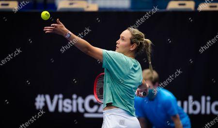 Editorial picture of J&T Banka Ostrava Open, Tennis, Ostrava, Czech Republic - 20 Oct 2020