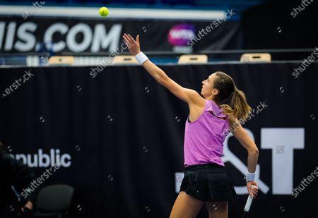 Editorial photo of J&T Banka Ostrava Open, Tennis, Ostrava, Czech Republic - 21 Oct 2020