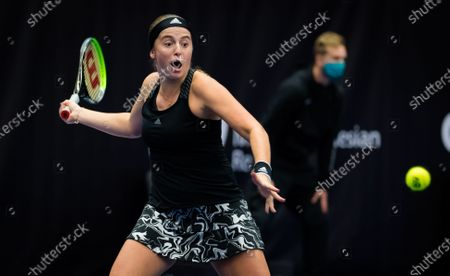 Editorial image of J&T Banka Ostrava Open, Tennis, Ostrava, Czech Republic - 21 Oct 2020