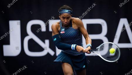 Editorial picture of J&T Banka Ostrava Open, Tennis, Ostrava, Czech Republic - 22 Oct 2020