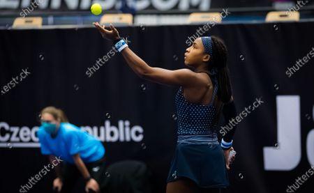 Editorial image of J&T Banka Ostrava Open, Tennis, Ostrava, Czech Republic - 22 Oct 2020