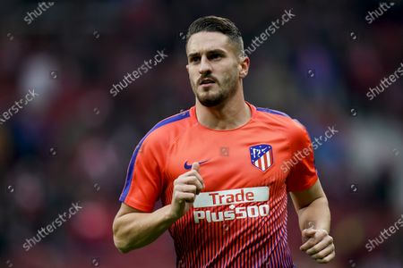 Jorge Resurreccion Merodio, Koke, of Atletico de Madrid warms up prior to the La Liga 2018-19 match between Atletico de Madrid and RCD Espanyol at Wanda Metropolitano on December 22 2018 in Madrid, Spain. Photo by Diego Souto / Power Sport Images