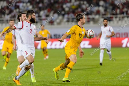 Editorial picture of Australia v Syria, 2019 AFC Asian Cup, Group Stage B, Football, Khalifa Bin Zayed Stadium, Al Ain, United Arab Emirates - 15 Jan 2019