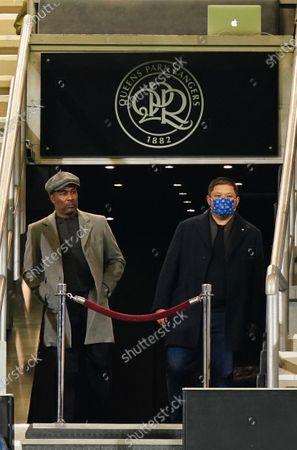 QPR Director of Football Les Ferdinand left