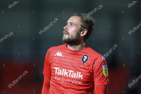 Stock Picture of James Wilson (19) of Salford City during the game