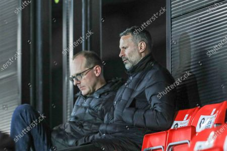 Ryan Giggs is in attendance
