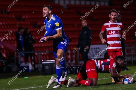 Editorial picture of Doncaster Rovers v Ipswich Town, EFL Sky Bet League One, Football, Keepmoat Stadium, Doncaster, UK - 20 Oct 2020