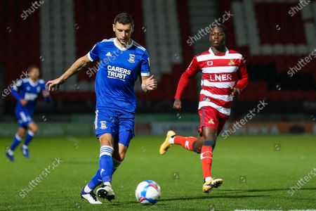 Editorial photo of Doncaster Rovers v Ipswich Town, EFL Sky Bet League One, Football, Keepmoat Stadium, Doncaster, UK - 20 Oct 2020