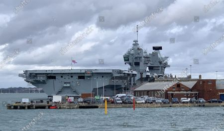 Britain's newest aircraft carrier flooded to the depth of 3ft after a water leak in the engine room. It is the second time HMS Prince of Wales  a 3.1billion state-of-the-art ship  has flooded in the past five months. Footage filmed by crew members showed water gushing down the stairs and submerging electrical cabinets and pipes. An internal system developed a fault causing the flood on board the 65,000-ton warship while it was at its home port of Portsmouth Naval Base on Thursday. It is the second time that the warship has developed a leak. In May a video emerged of water pouring through the ceiling into an accommodation area.