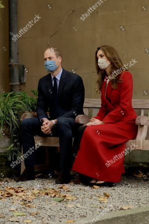 Stock Picture of Britain's Prince William and his wife Catherine Duchess of Cambridge meet medical staff as they visit St. Bartholomew's Hospital in London, to mark the launch of the nationwide 'Hold Still' community photography project