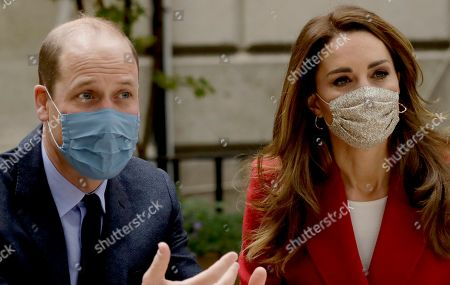 Editorial photo of Prince William and Catherine Duchess of Cambridge visit the launch of the Hold Still campaign, London, UK - 20 Oct 2020