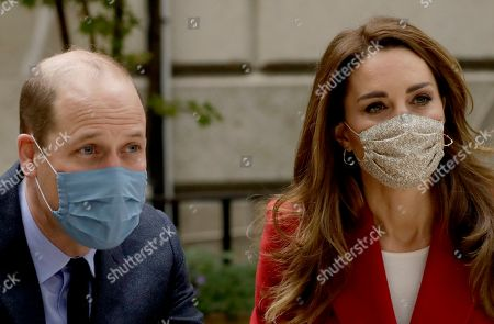 Editorial image of Prince William and Catherine Duchess of Cambridge visit the launch of the Hold Still campaign, London, UK - 20 Oct 2020