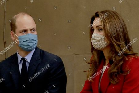 Editorial picture of Prince William and Catherine Duchess of Cambridge visit the launch of the Hold Still campaign, London, UK - 20 Oct 2020